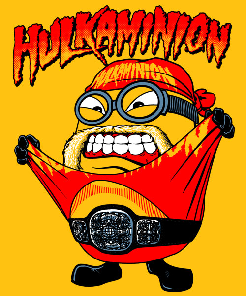 Hulkaminion from enteetee day of the shirt for Entire book on shirt