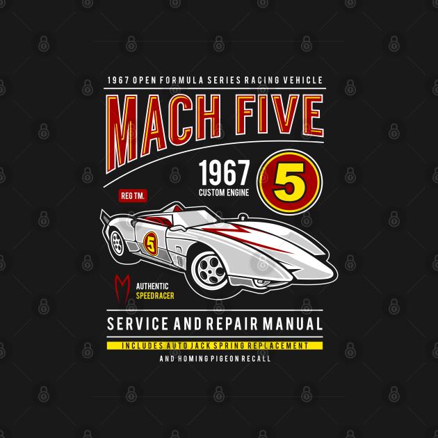 TeePublic: Mach 5