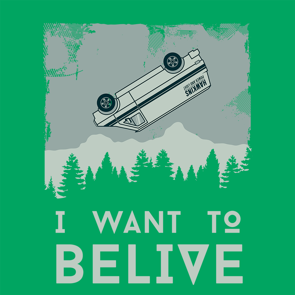 Pop-Up Tee: I Want to Believe