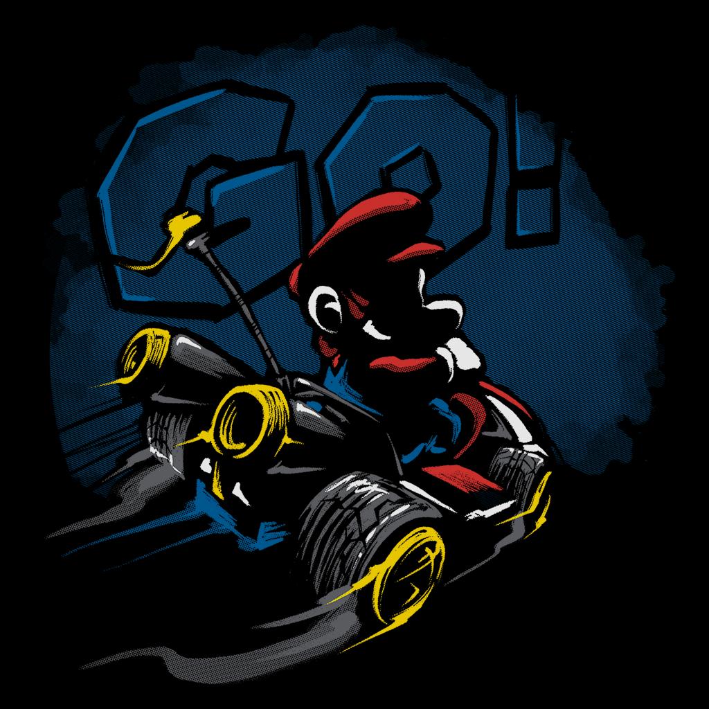 Pop-Up Tee: Racer Plumber