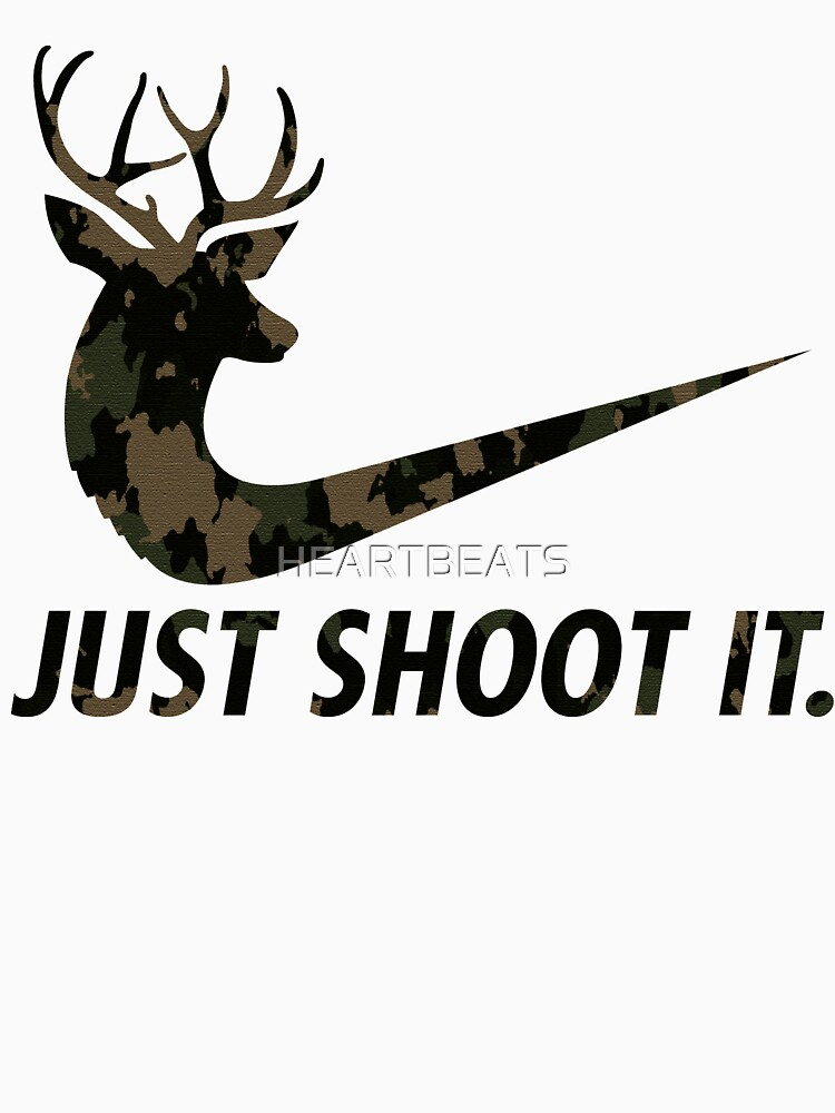 RedBubble: Just Shoot It Funny Hunting Nike Deer Fashion