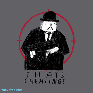 The Yetee: thats cheating!
