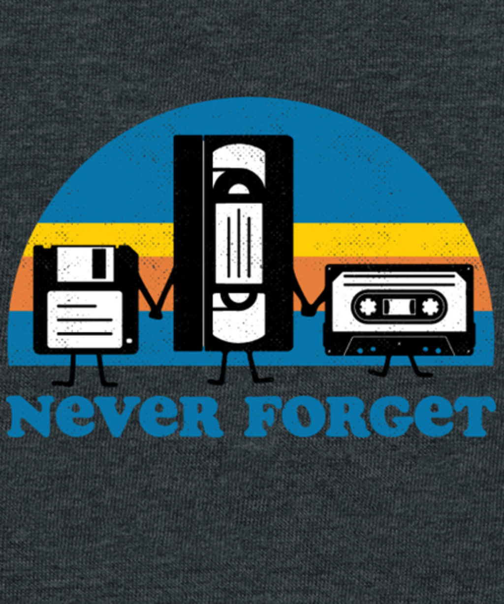 Qwertee: Never Forget