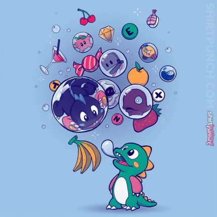 ShirtPunch: Many Bubbles