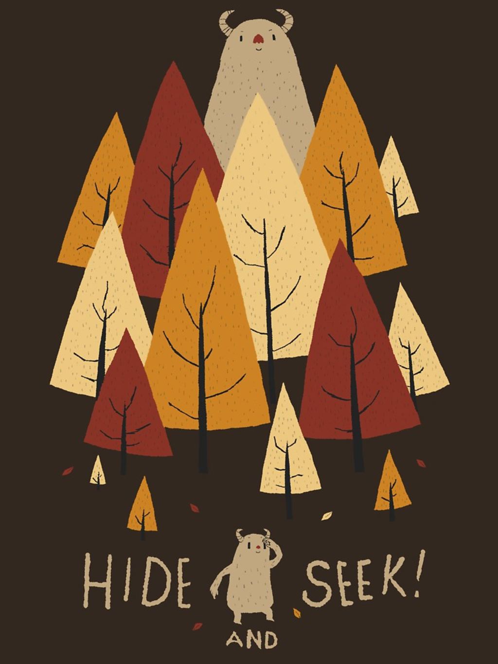 RedBubble: hide and seek