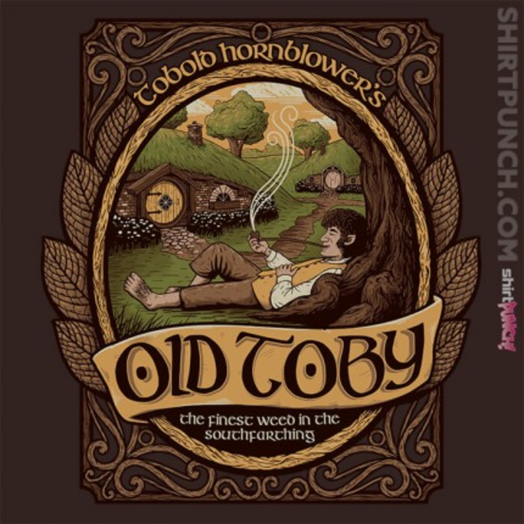 ShirtPunch: Old Toby