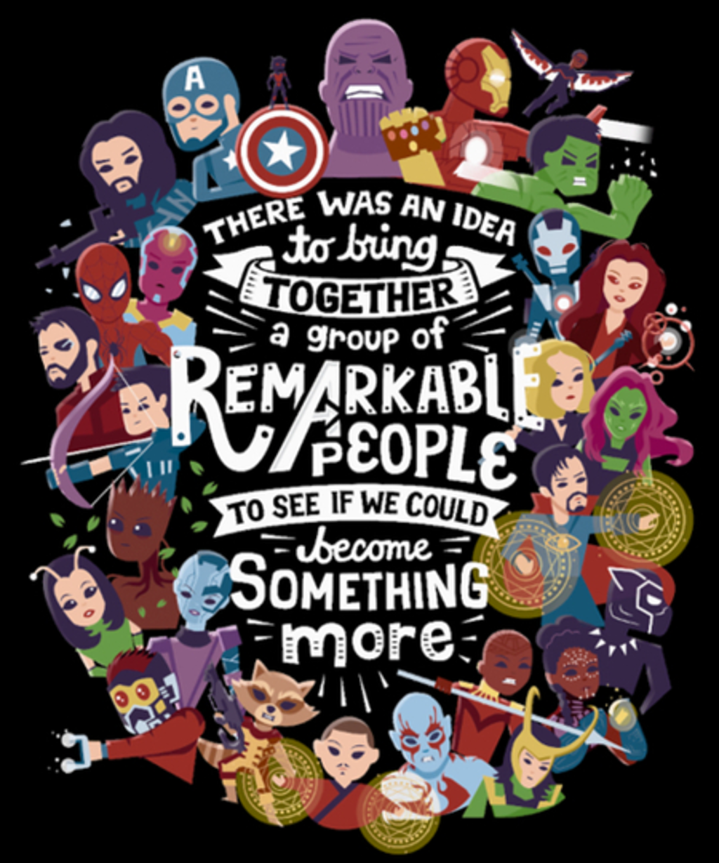 Qwertee: Remarkable People