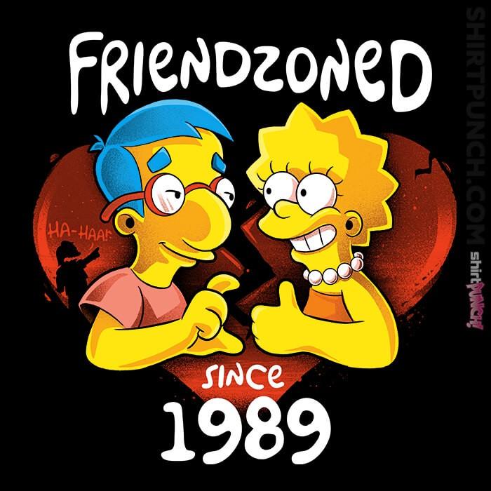 ShirtPunch: Friendzoned