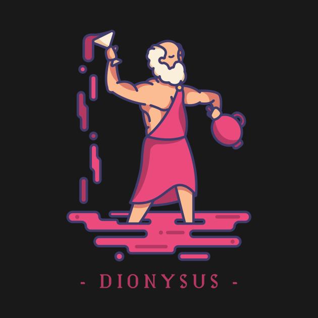 TeePublic: Dionysus Greek Mythology