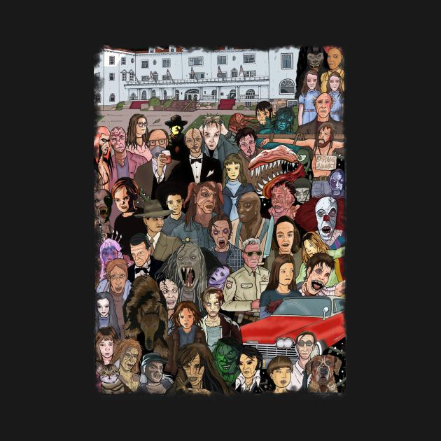TeePublic: Stephen King Tribute