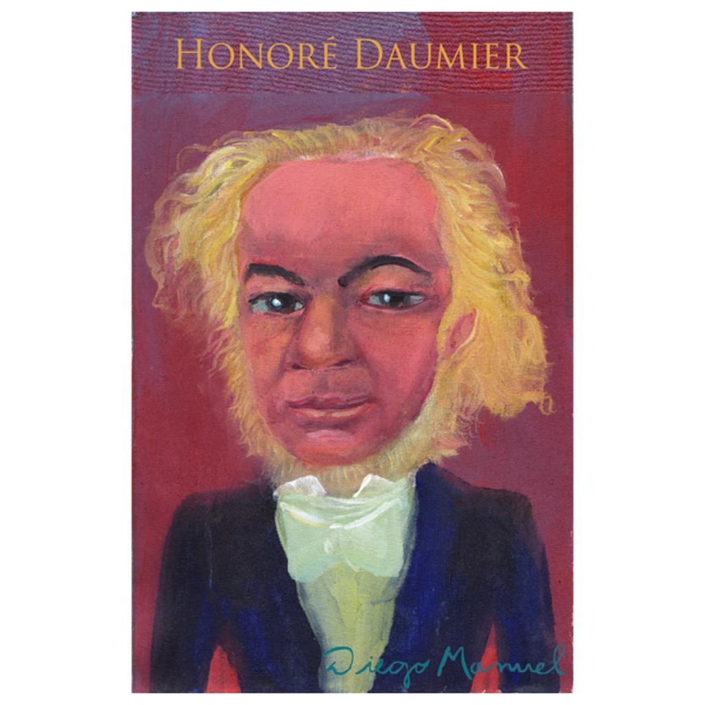 NeatoShop: Honoré Daumier portrait