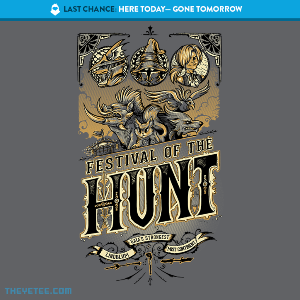 The Yetee: LAST CHANCE: Festival of the Hunt
