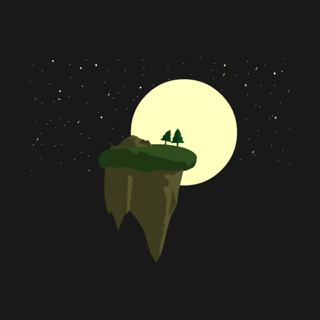TeePublic: Moonlit Trees