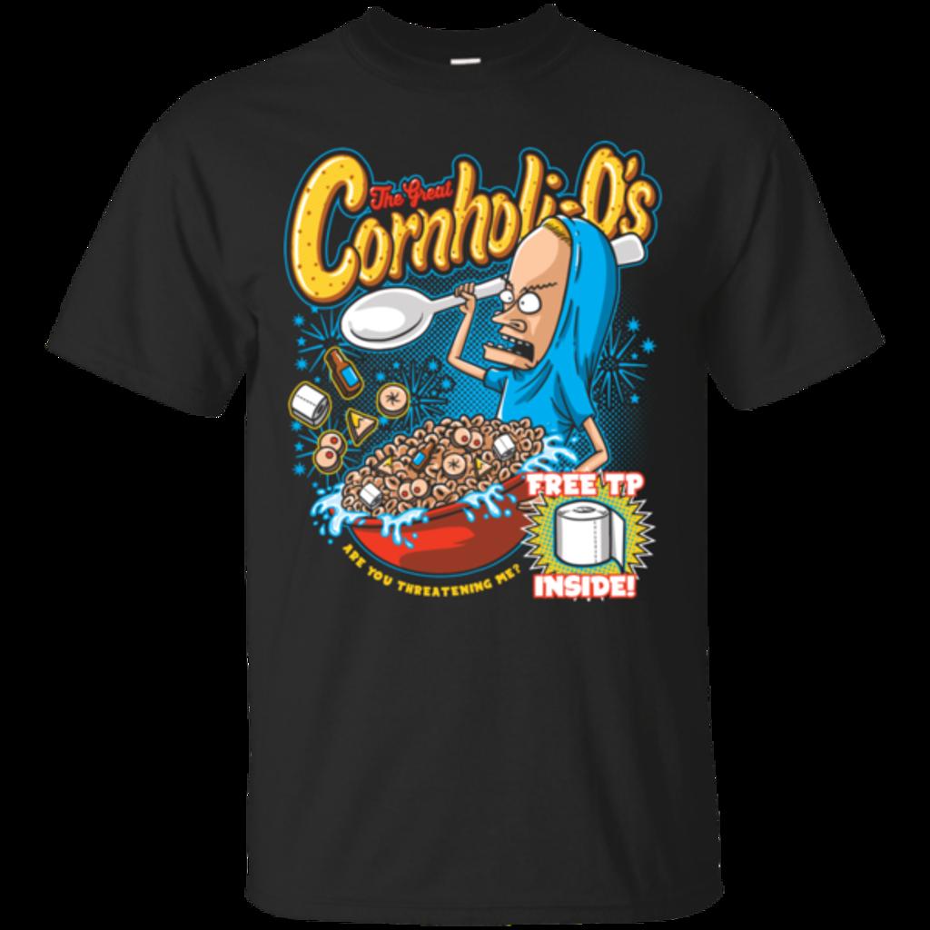 Pop-Up Tee: Cornholi-O's