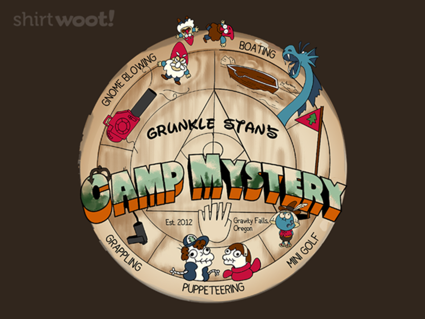Woot!: Camp Mystery