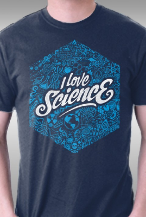 TeeFury: I Heart Science