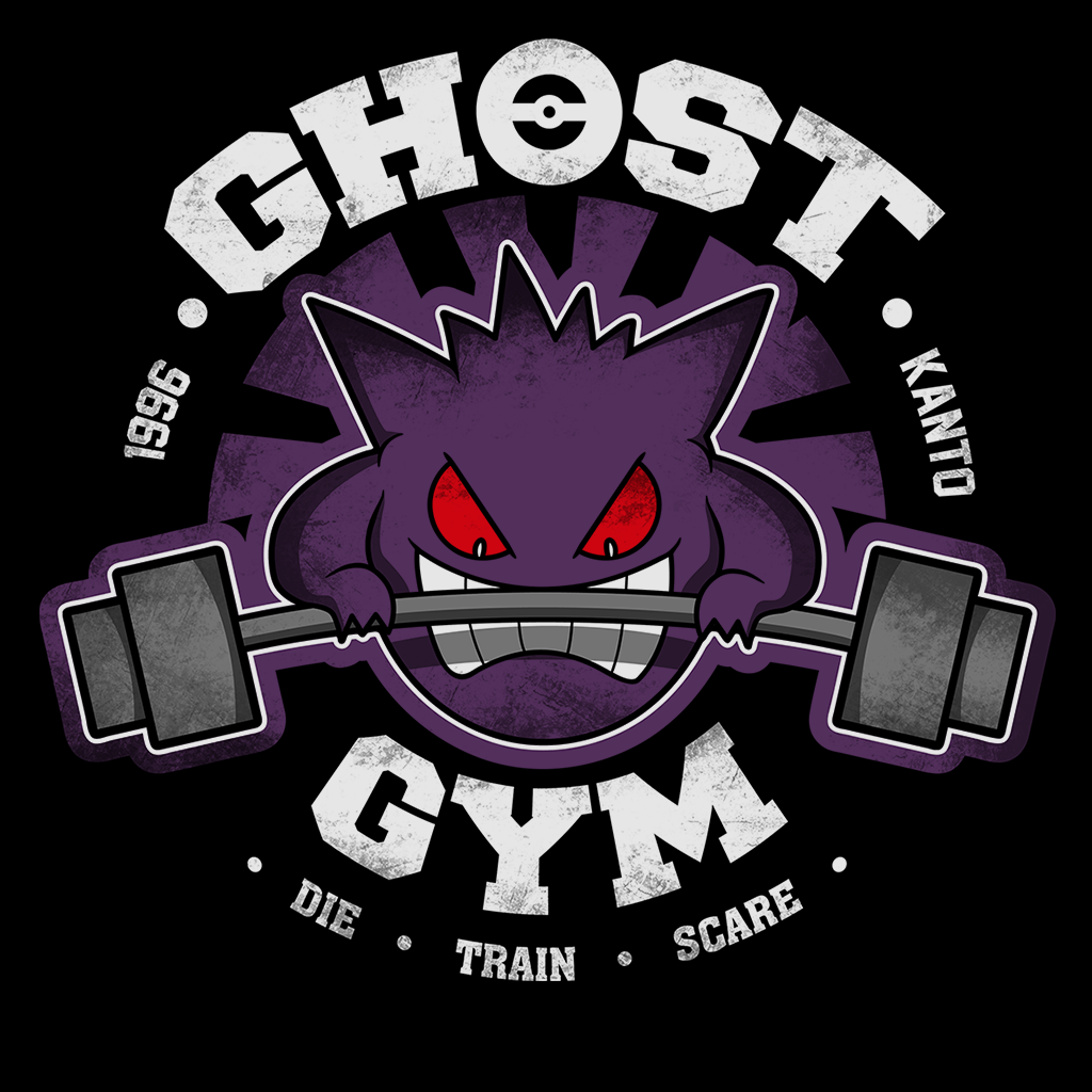 Pop-Up Tee: Ghost Gym