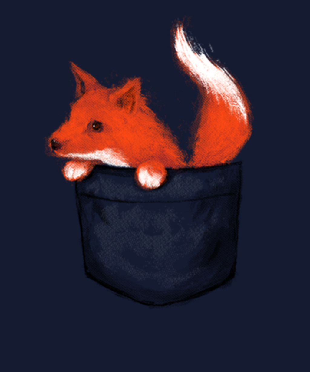 Qwertee: Little Fox