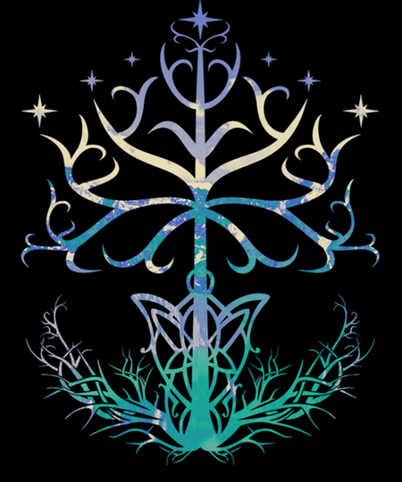 Qwertee: Lightful Tree of Gondor