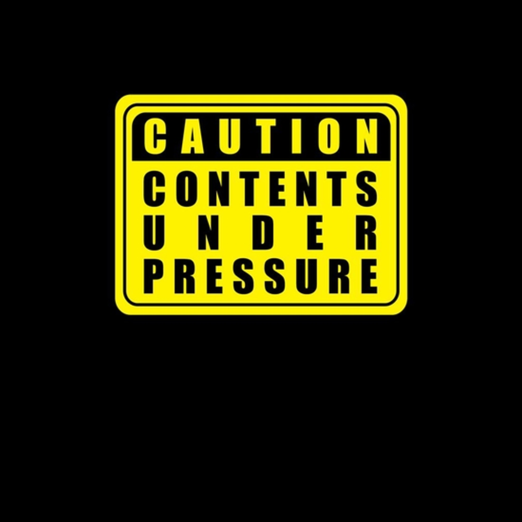 BustedTees: Caution Contents Under Pressure