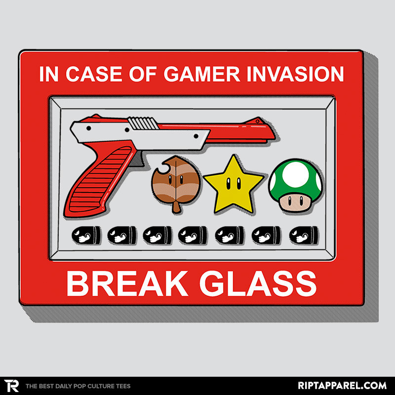 Ript: In Case of Gamer Invasion