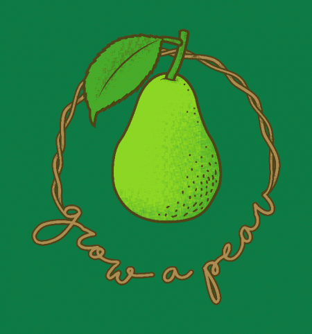 BustedTees: Grow A Pear