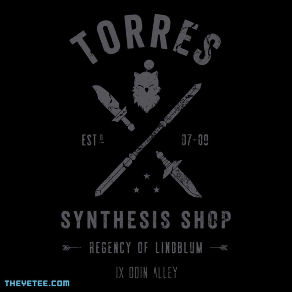 The Yetee: Torres Synthesis Shop