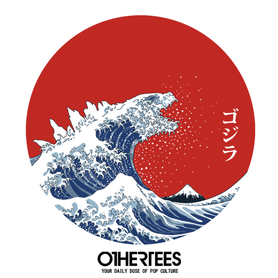 OtherTees: Hokusai Gojira