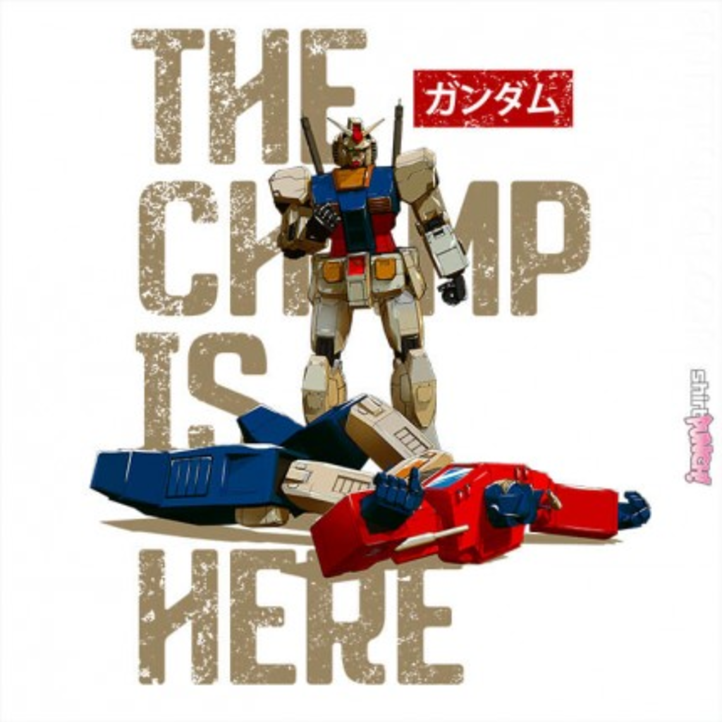ShirtPunch: The Champ Is Here