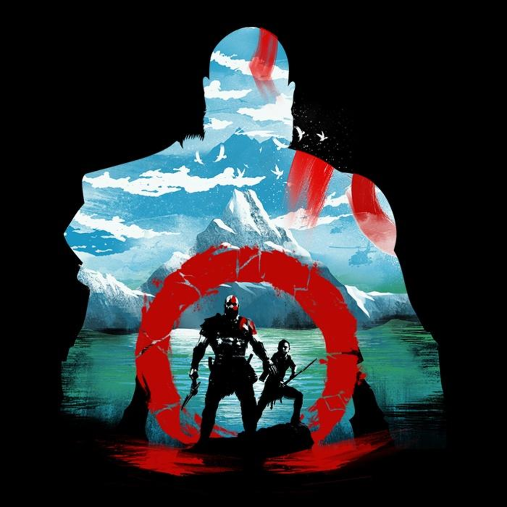 Once Upon a Tee: Silhouette of a God
