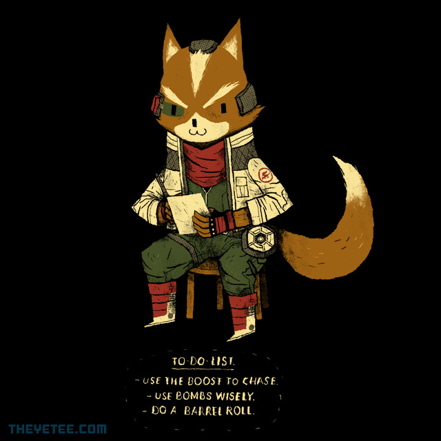 The Yetee: Fox To Do List