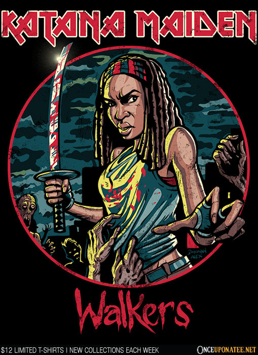 Once Upon a Tee: Katana Maiden