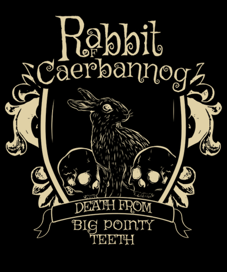 Qwertee: Rabbit of Caerbannog