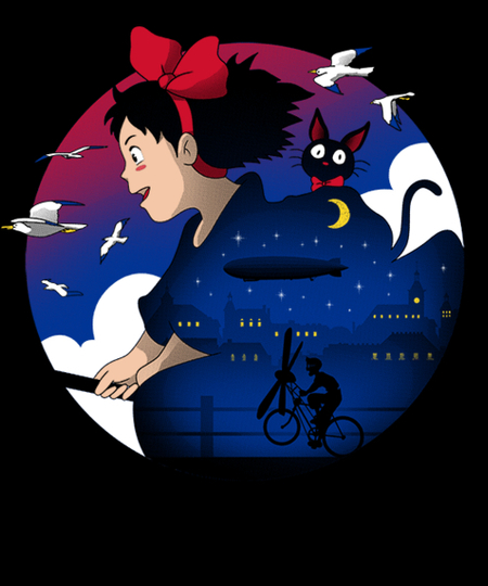 Qwertee: A Young Witch's Journey