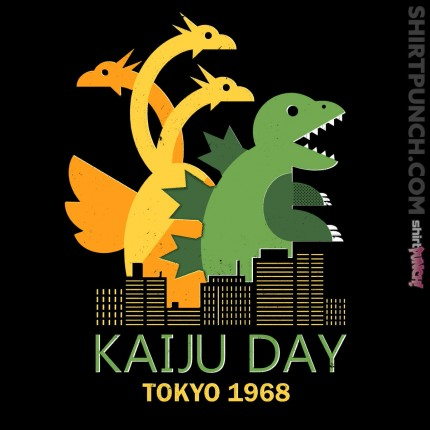 ShirtPunch: Kaiju Day