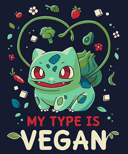 Qwertee: Vegan Type