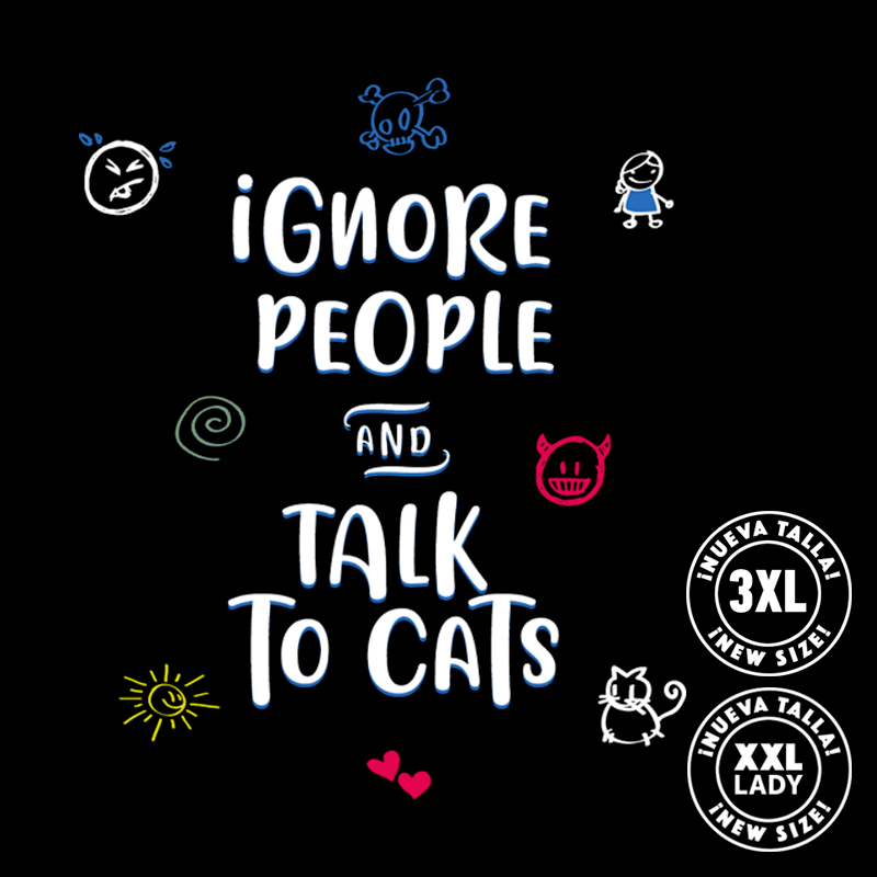 Pampling: Ignore People and Talk to Cats