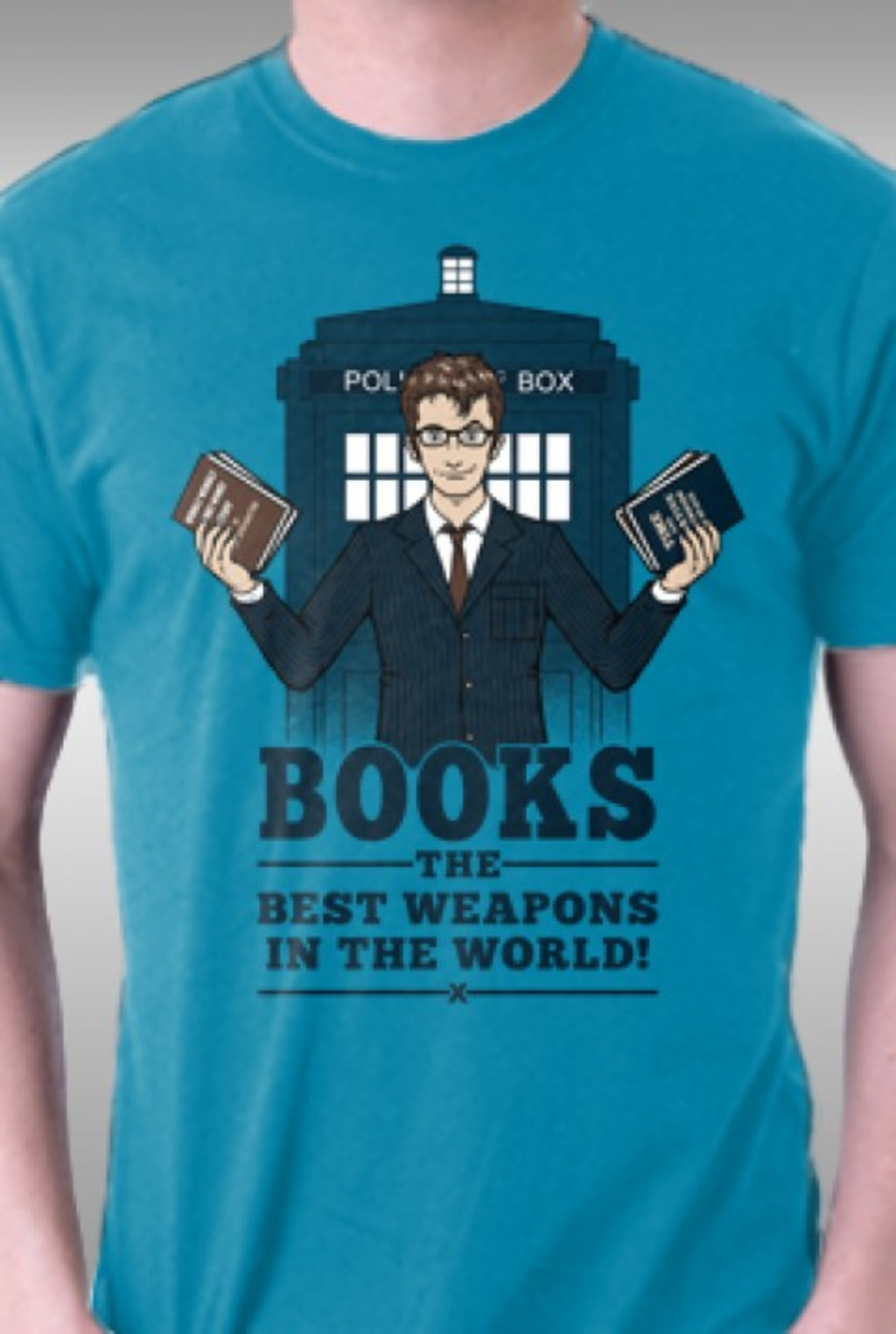 TeeFury: Books, The Best Weapons