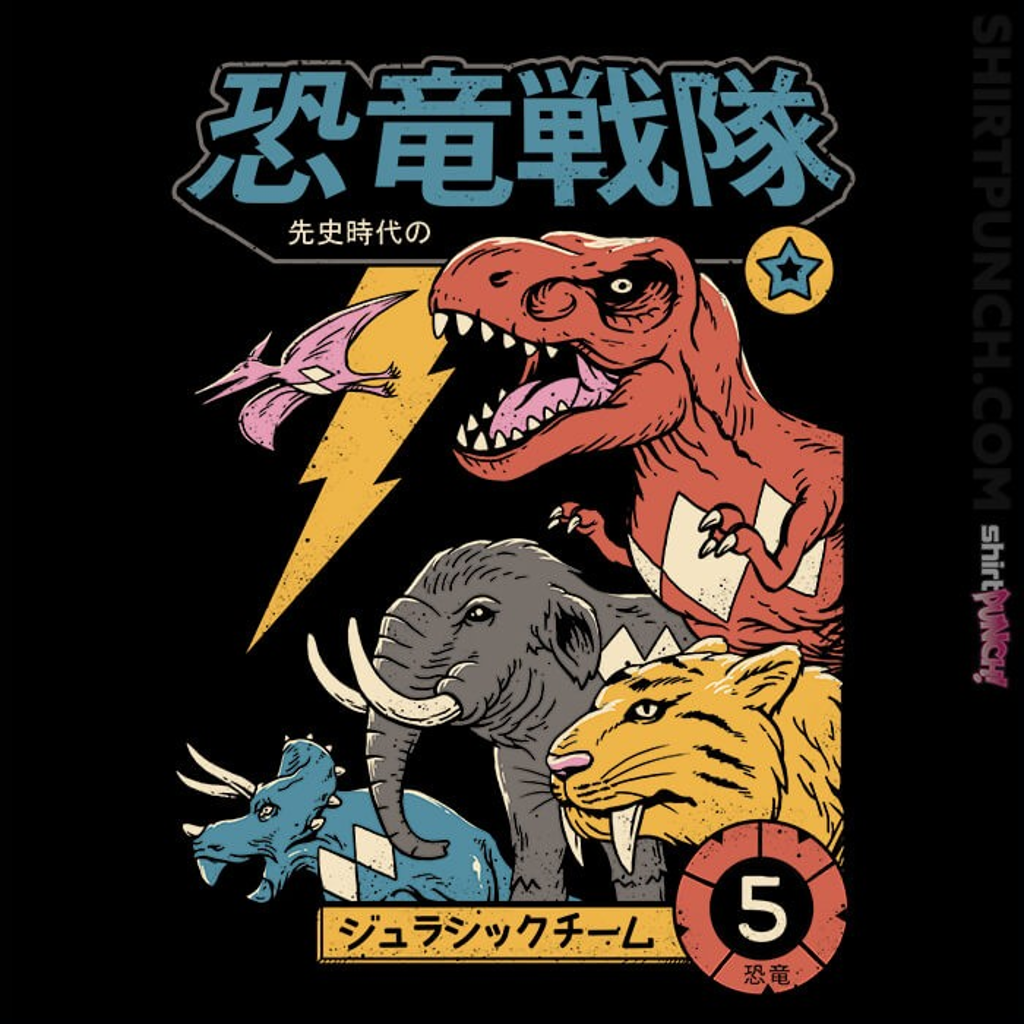 ShirtPunch: DIno Sentai