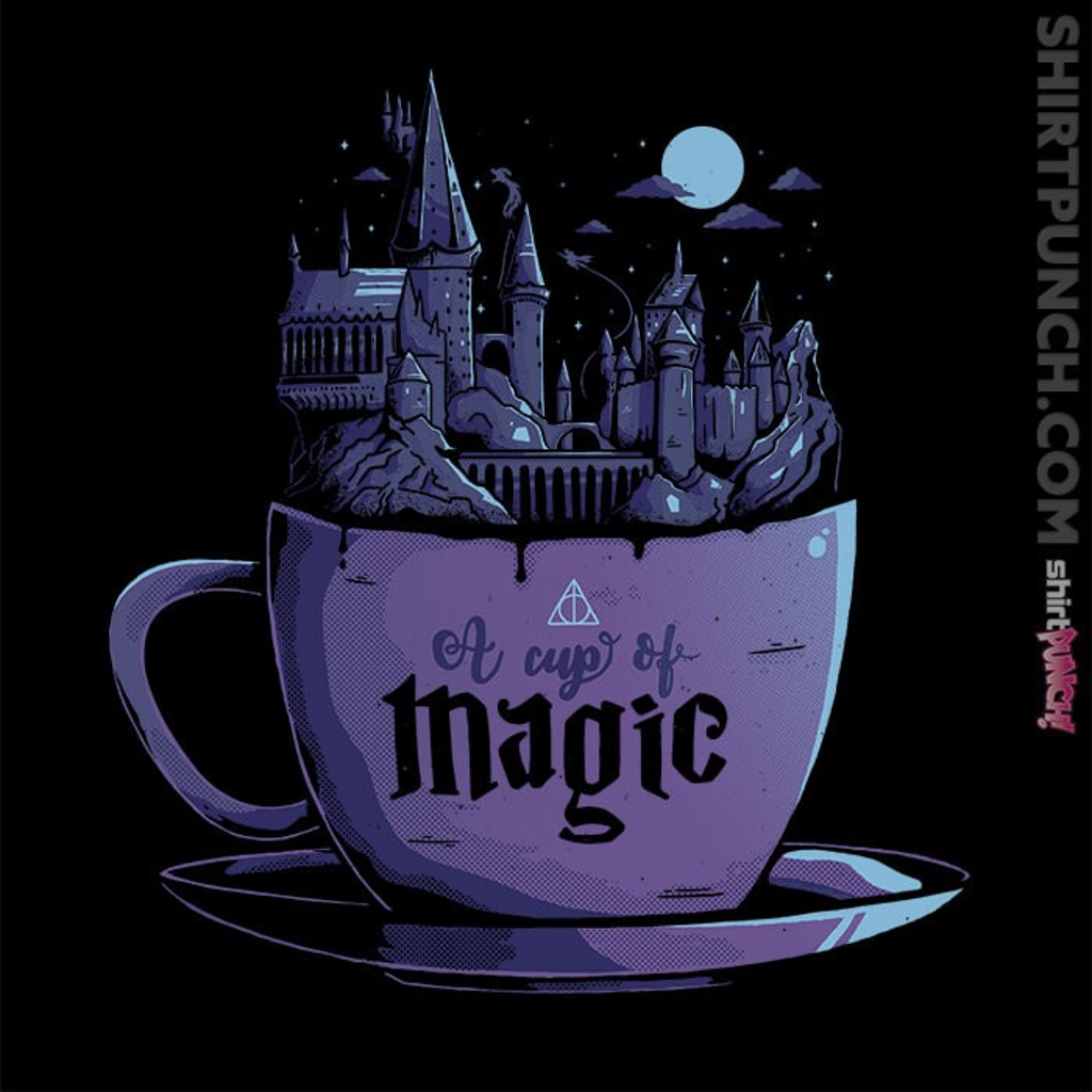 ShirtPunch: A Cup Of Magic