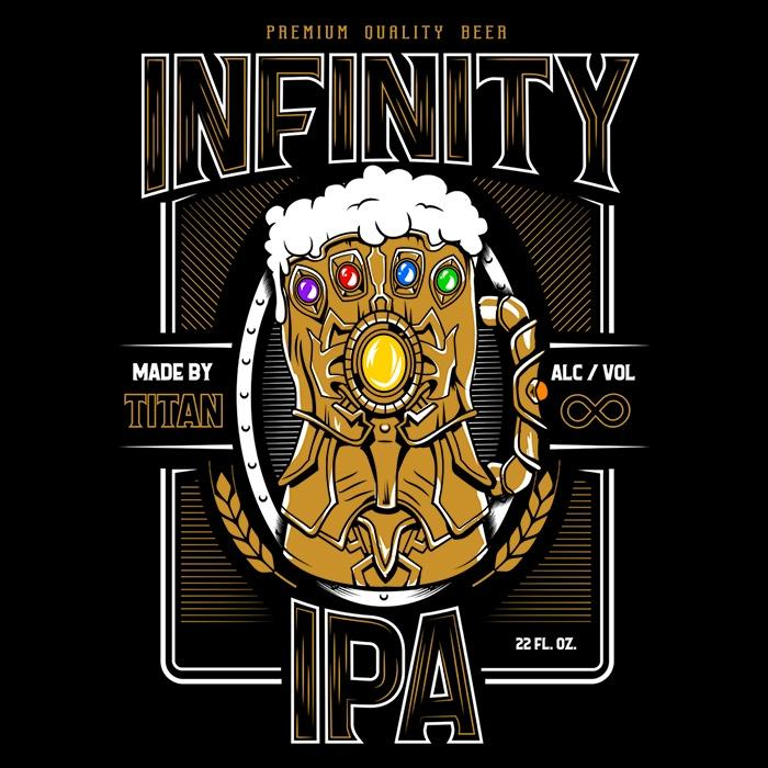 Once Upon a Tee: Infinity IPA