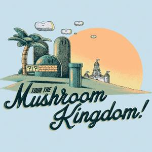 BustedTees: Mushroom Kingdom
