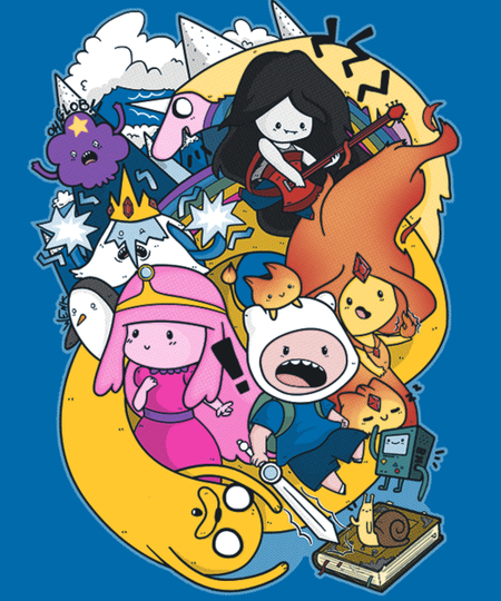 Qwertee: Time for Adventures
