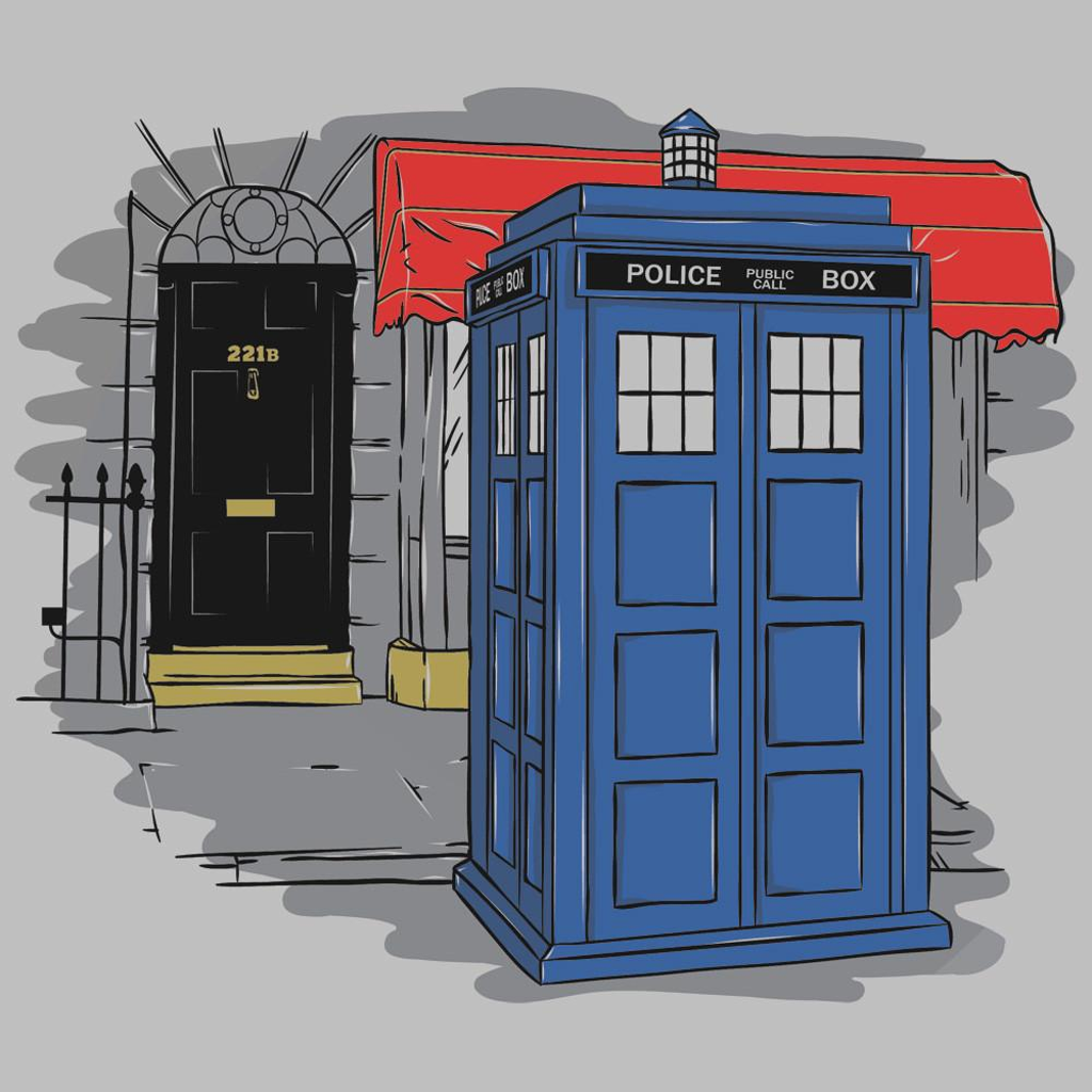 Blue Box Tees: Consulting Timelord