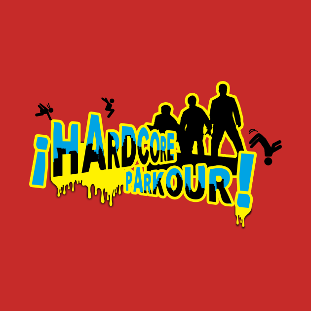 TeePublic: Hardcore Parkour!