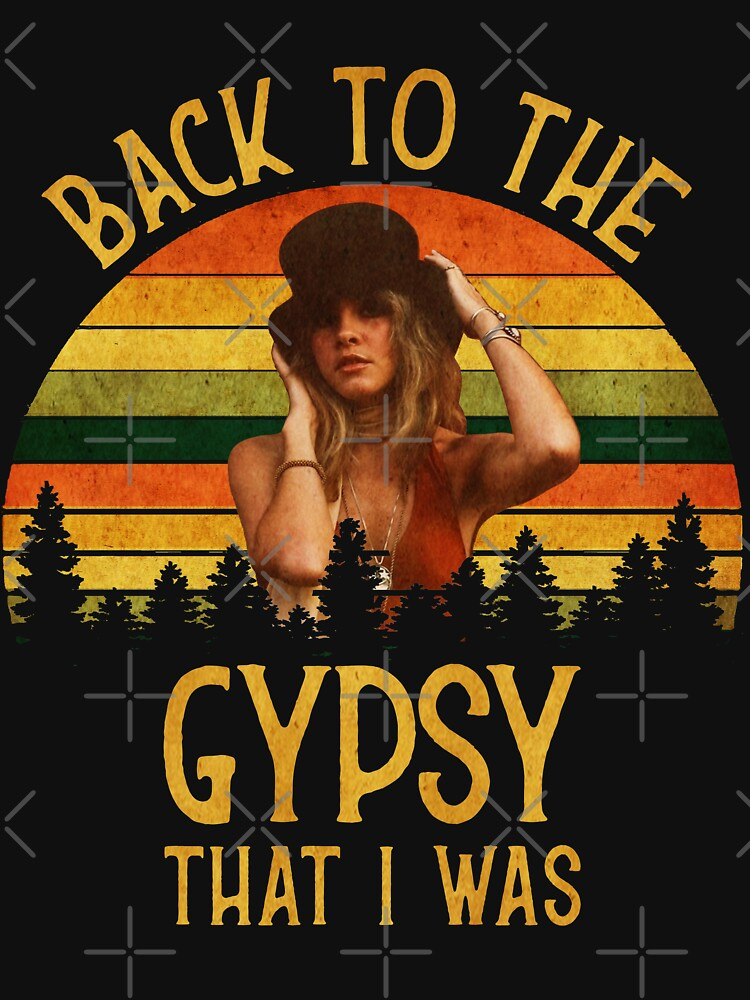 RedBubble: Back To The Gypsy That I Was vintage Retro T-Shirt