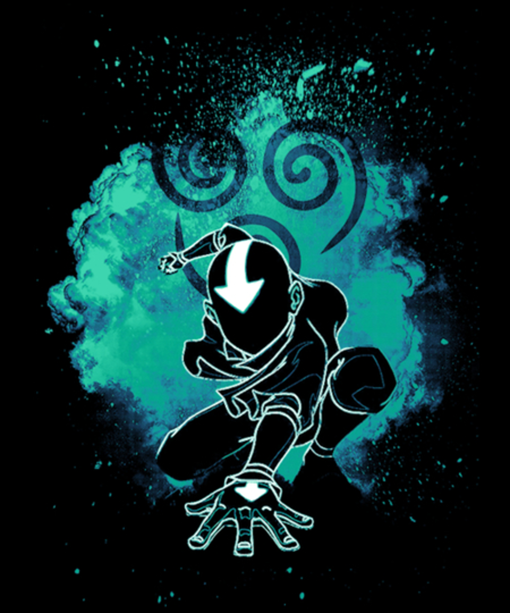 Qwertee: Soul of the airbender