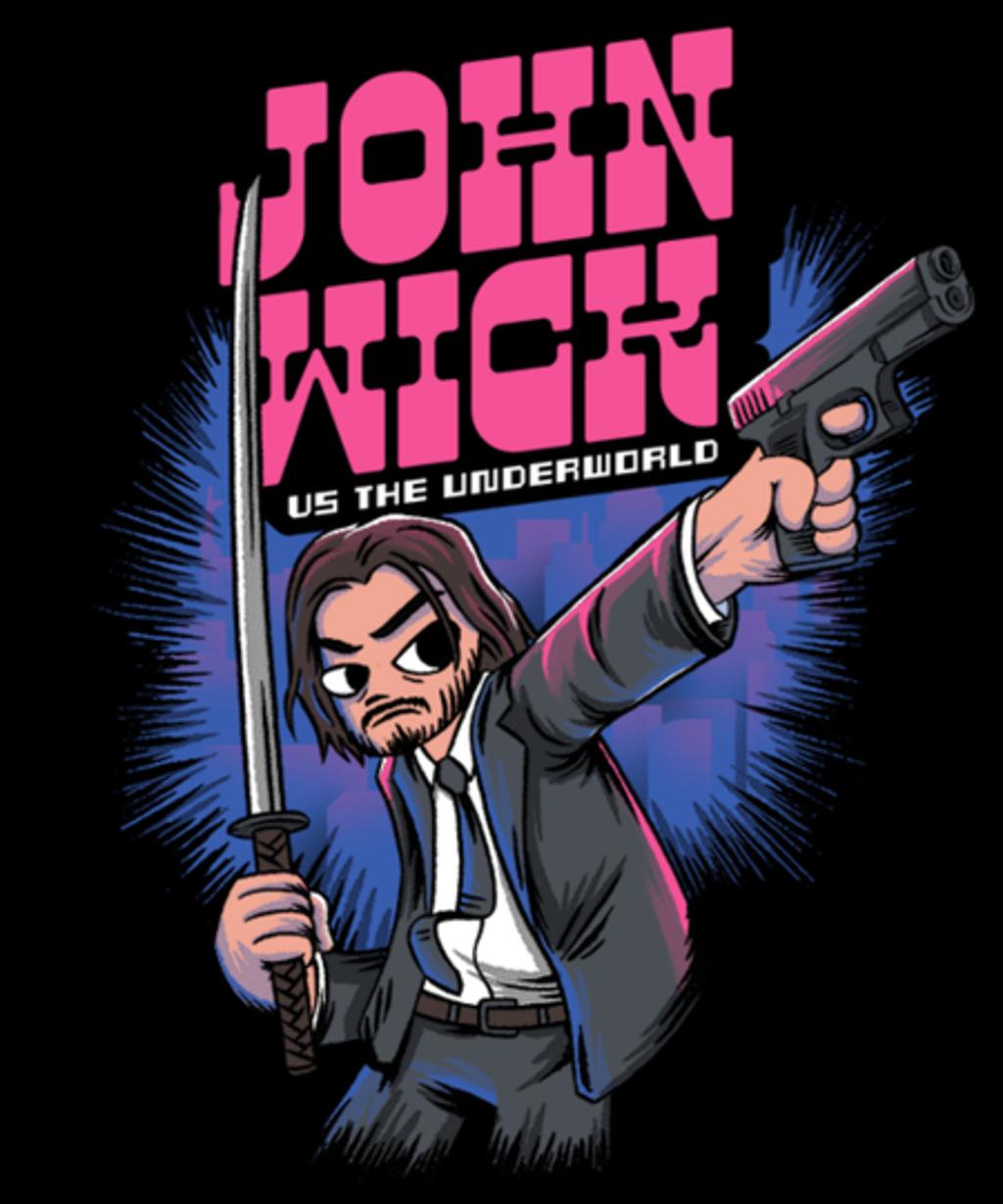 Qwertee: John vs the World