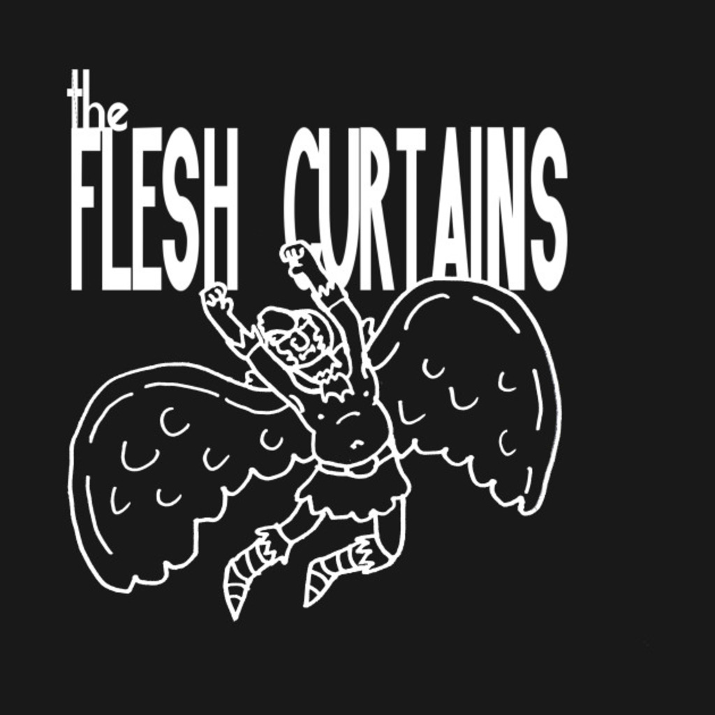 TeePublic: The Flesh Curtains T-Shirt