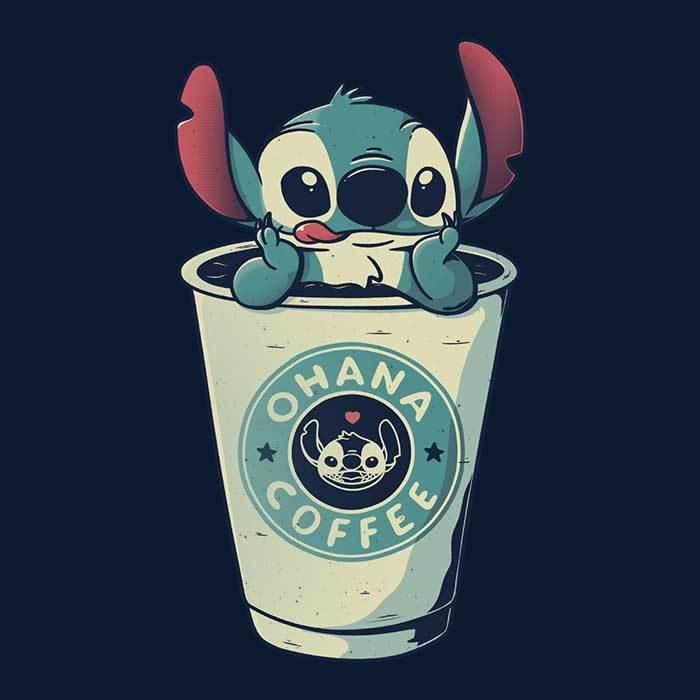 Once Upon a Tee: Ohana Coffee
